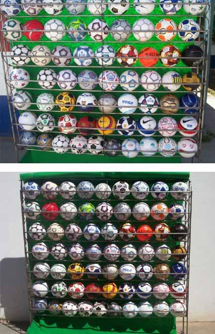 Presentaran la colección de pelotas de fútbol más grande del mundo  e53ec8cfe3014