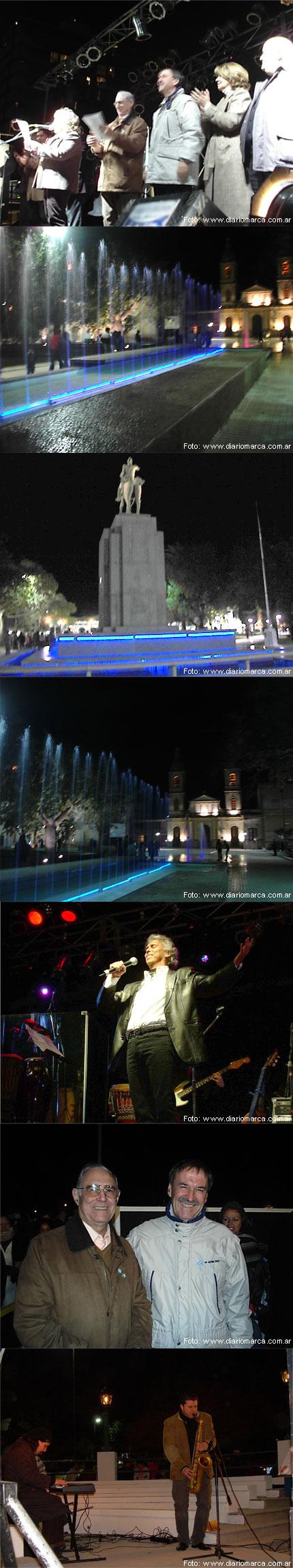 Inauguracion Plaza 25 de Mayo - Bell Ville -Schiaretti presente