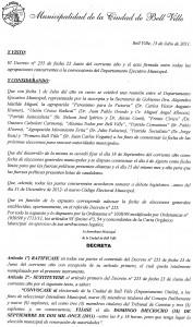 13 julio decreto 1 elecciones 18