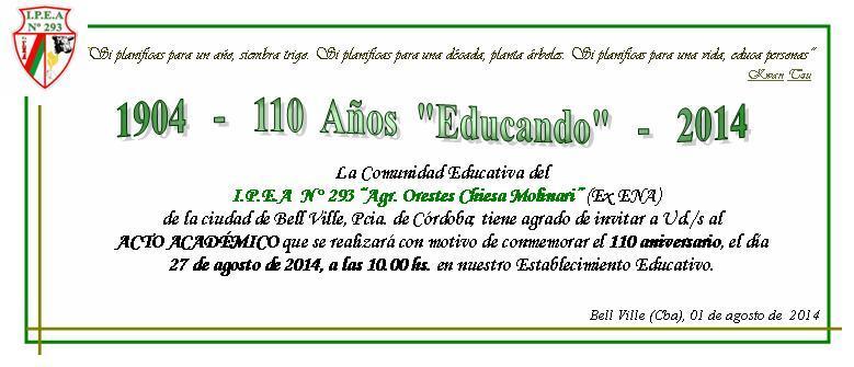 El director de la entidad educativa, Ing. Claudio González, destacó